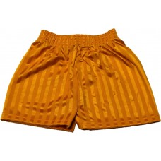 Shadow Stripe Short - Yellow