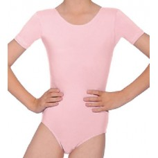Cotton Leotard - Pink