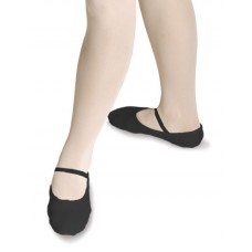 Ballet Shoes Leather - Black