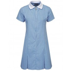 Dress Gingham - Sky Blue