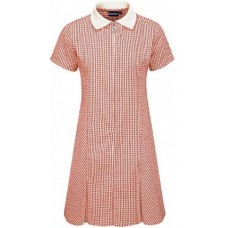 Dress Gingham - Red