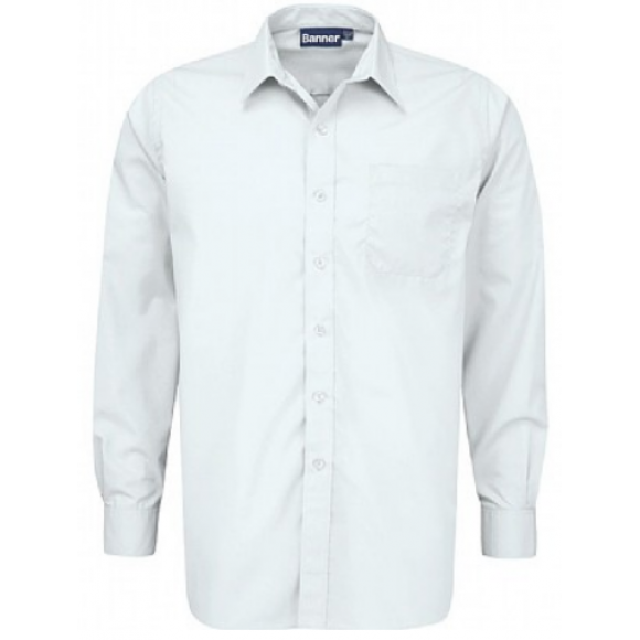Long Sleeve Shirt- Twin Pack - White