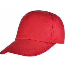 Junior Baseball Cap - Red