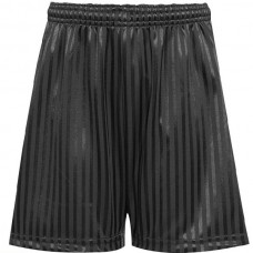 Shadow Stripe Short - Black