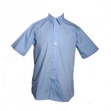 Boys Short Sleeve Shirts - Twin Pack - Blue