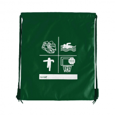 Sports P.E Bag - Bottle Green