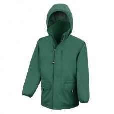 Coat Waterproof - Bottle Green