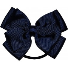 Hair Bobble - Navy Blue