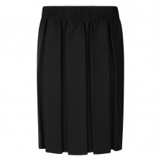 Skirt Box Pleat - Black