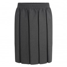 Skirt Box Pleat - Grey