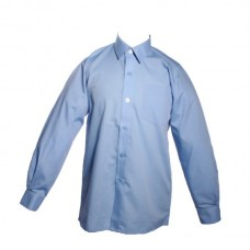 Boys Long Sleeve Shirts - Twin Pack - Blue