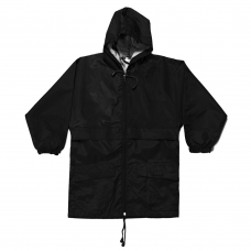 Cagoule in a bag - Black
