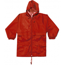 Cagoule in a bag - Red