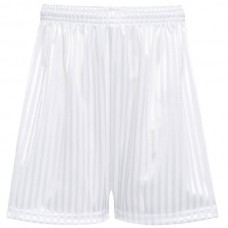 Shadow Stripe Short - White