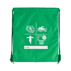 Sports P.E Bag - Emerald Green