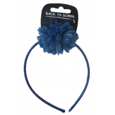 Flower Bobble & Band - Royal Blue