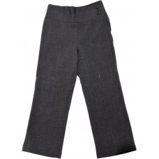 Deep Waist Trouser - Grey