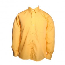 Boys long Sleeve Shirts - Twin Pack - Gold