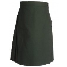 School Skirt Kilt Green
