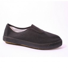 Plimsoll Slip On - Black
