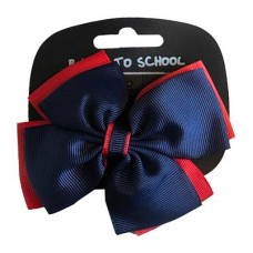 Bow Navy/Red
