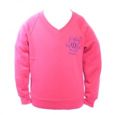 School Embroidered Sweatshirt