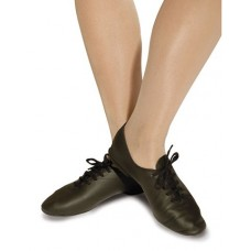 Jazz Shoe Leather - Black