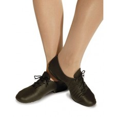 Jazz Shoe Split Sole Lether - Black
