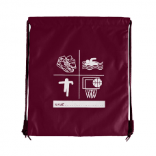Sports P.E Bag - Maroon