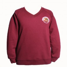School Embroidered Sweatshirt YR 6