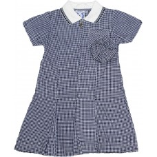 Dress - Navy Gingham