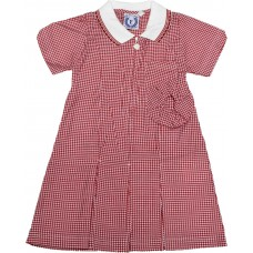 Gingham Dress - Red Gingham