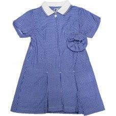 Gingham Dress - Sky Blue