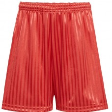 Shadow Stripe Short - Red