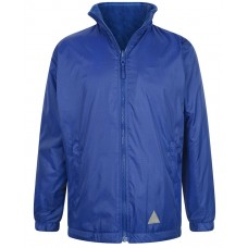 Jacket Reversible Fleece -Royal Blue