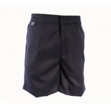 Navy Boys School Shorts. Age 4/5 - 11/12