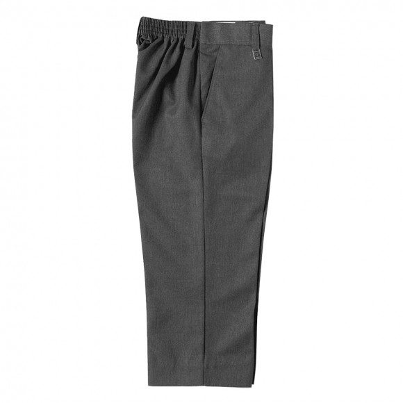 Boys Sturdy Fit Trouser - Grey Junior Trousers