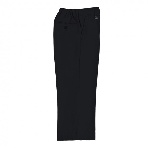 Boys Adjustable Trouser - Black Junior Trousers