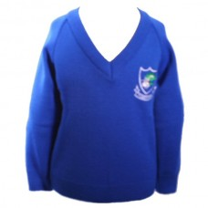 School Embroidered Jumper