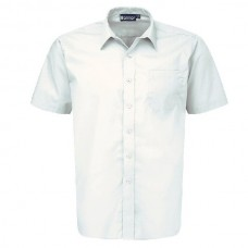 Boys Short Sleeve Shirts - Twin Pack - White