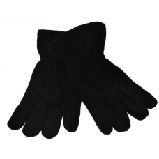 Fleece Gloves - Black