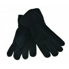 Fleece Gloves - Navy Blue