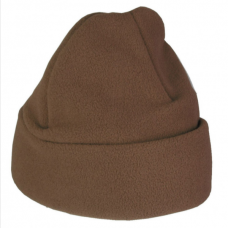 Fleece Hat - Brown