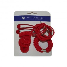 Hair Accessories Set Red