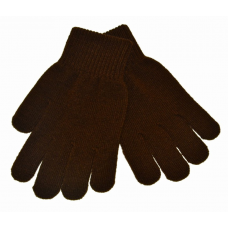 Stretch Gloves - Brown