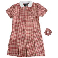 Dress Gingham - Red Summer Dresses