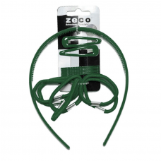 Alice Band Set - Bottle Green