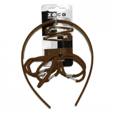 Alice Band Set - Brown