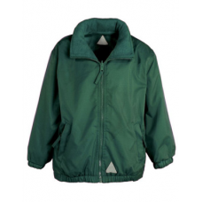 Jacket Reversible Fleece- Bottle Green