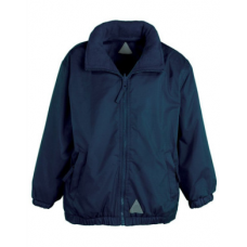 Jacket Reversible Fleece - Navy Blue